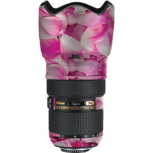 LensSkins Lens Skin for Nikon 24-70mm f/2.8G AF-S ED (Pink Petals)