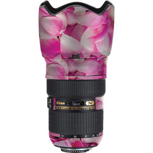 LensSkins Lens Skin for the Nikon 24-70mm f/2.8G AF-S ED Lens (Pink Petals)