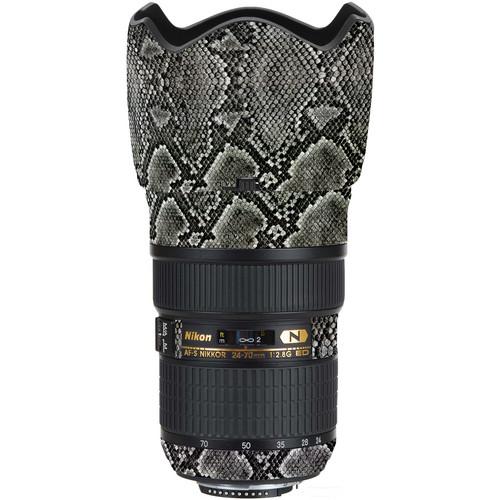 LensSkins Lens Wrap for Nikon 24-70mm f/2.8G (Snake Skin)