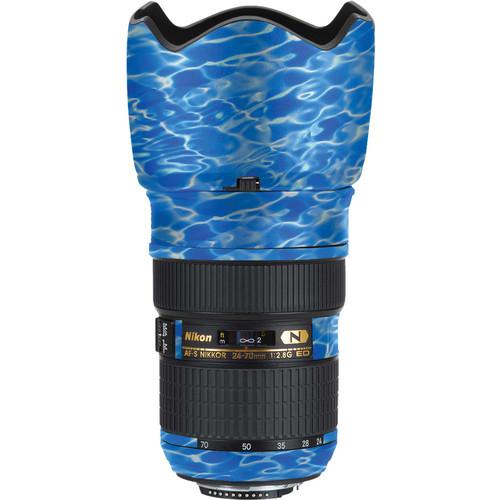 LensSkins Lens Skin for the Nikon 24-70mm f/2.8G AF-S ED Lens (Underwater)