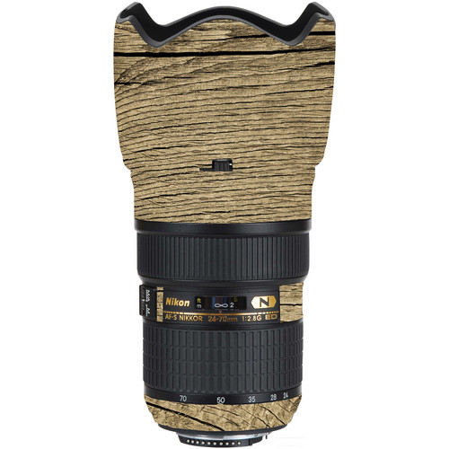 LensSkins Lens Wrap for Nikon 24-70mm f/2.8G (Woodie)