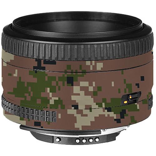 LensSkins Lens Skin for the Nikon 50mm f/1.8D AF Lens (Camo)