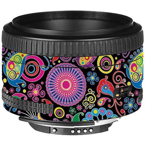 LensSkins Lens Skin for the Nikon 50mm f/1.8D AF Lens (Carnival Flair)