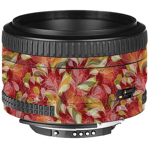 LensSkins Lens Skin for the Nikon 50mm f/1.8D AF Lens (French Feather)