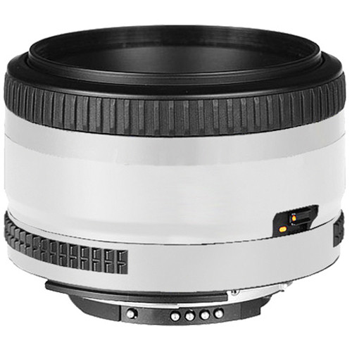 LensSkins Lens Skin for the Nikon 50mm f/1.8D AF Lens (Flat White)