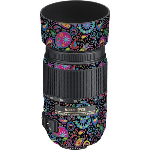 LensSkins Lens Skin for the Nikon 55-300mm f/4.5-5.6G ED VR Lens (Carnival Flair)