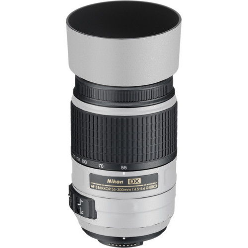 LensSkins Lens Skin for the Nikon 55-300mm f/4.5-5.6G ED VR Lens (Flat White)