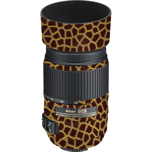 LensSkins Lens Skin for the Nikon 55-300mm f/4.5-5.6G ED VR Lens (Giraffe)
