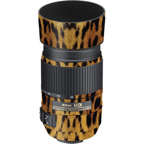 LensSkins Lens Wrap for Nikon 55-300mm f/4.5-5.6G (Leopard)