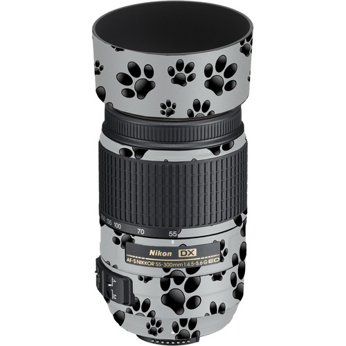 LensSkins Lens Skin for the Nikon 55-300mm f/4.5-5.6G ED VR Lens (Pet Photographer)