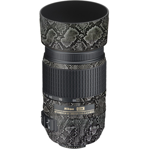 LensSkins Lens Wrap for Nikon 55-300mm f/4.5-5.6G (Snake Skin)