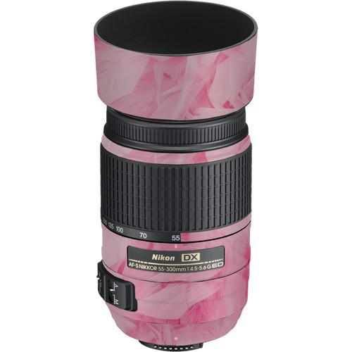 LensSkins Lens Skin for the Nikon 55-300mm f/4.5-5.6G ED VR Lens (Tickled Pink)