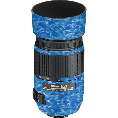 LensSkins Lens Skin for the Nikon 55-300mm f/4.5-5.6G ED VR Lens (Underwater)