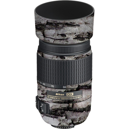 LensSkins Lens Skin for the Nikon 55-300mm f/4.5-5.6G ED VR Lens (Winter Woodland)