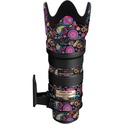 LensSkins Lens Skin for the Nikon 70-200mm f/2.8G AF-S IF-ED VR Lens (Carnival Flair)