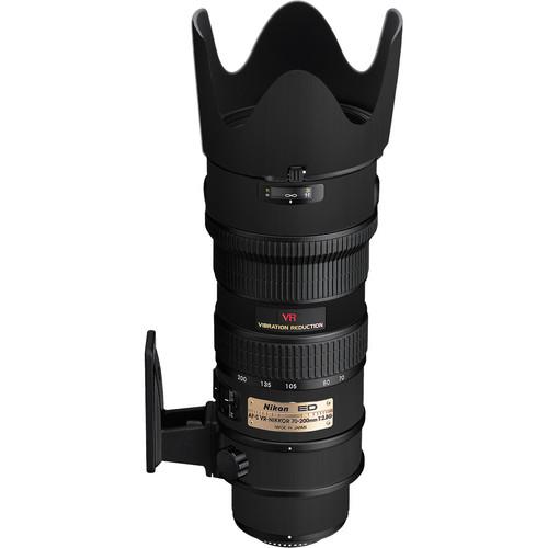 LensSkins Lens Skin for the Nikon 70-200mm f/2.8G AF-S IF-ED VR Lens (Flat Black)