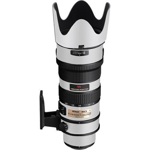 LensSkins Lens Skin for the Nikon 70-200mm f/2.8G AF-S IF-ED VR Lens (Flat White)