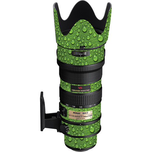 LensSkins Lens Skin for the Nikon 70-200mm f/2.8G AF-S IF-ED VR Lens (Green Water)