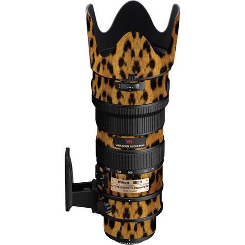 LensSkins Lens Wrap for Nikon 70-200mm f/2.8G (Leopard)