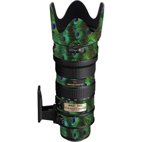 LensSkins Lens Skin for the Nikon 70-200mm f/2.8G AF-S IF-ED VR Lens (Peacock Bliss)