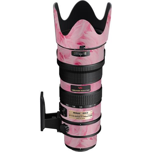 LensSkins Lens Skin for the Nikon 70-200mm f/2.8G AF-S IF-ED VR Lens (Tickled Pink)