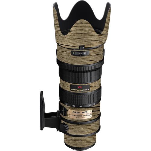 LensSkins Lens Wrap for Nikon 70-200mm f/2.8G (Woodie)