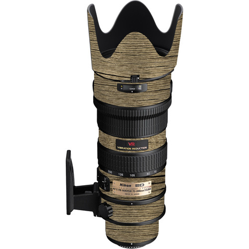 LensSkins Lens Wrap for Nikon 70-200mm f/2.8G (Woodie)