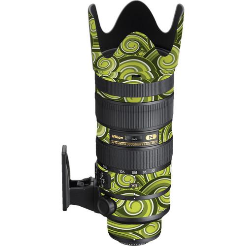 LensSkins Nikon 70-200mm f/2.8G AF-S ED VR II Lens (Green Swirl)
