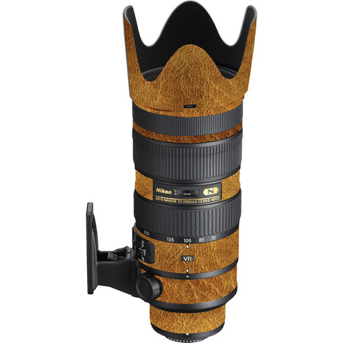 LensSkins Lens Wrap for Nikon 70-200mm f/2.8G II (Leathered)