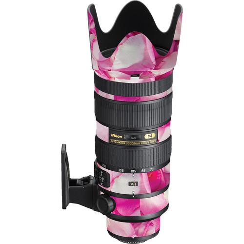 LensSkins Nikon 70-200mm f/2.8G AF-S ED VR II Lens (Pink Petals)