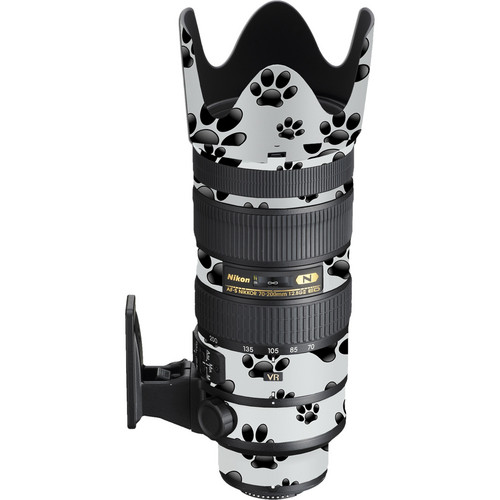 LensSkins Nikon 70-200mm f/2.8G AF-S ED VR II Lens (Pet Photographer)