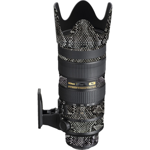 LensSkins Lens Wrap for Nikon 70-200mm f/2.8G II (Snake Skin)