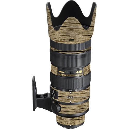 LensSkins Lens Wrap for Nikon 70-200mm f/2.8G II (Woodie)