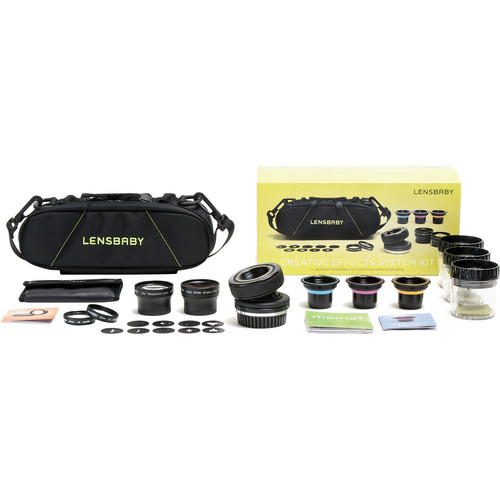 Lensbaby Creative Effects System Kit (Nikon Mount)