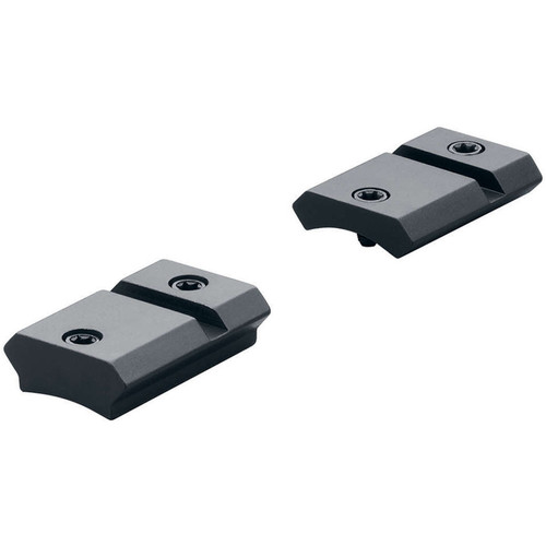 Leupold QRW 110 Two-Piece Mounting Base for Select Savage Rifles (Gloss Black)