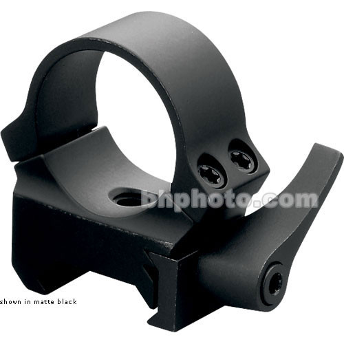 "Leupold QRW Rings - 1.0"" Tube - Medium   (Matte Black)"
