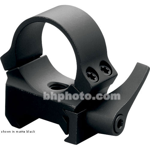 Leupold QRW Rings - 30mm Tube - Low   (Matte Black)
