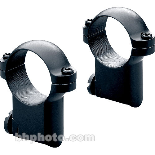"Leupold RM Ruger M77 Ringmounts (1"", Steel, Super-High, Gloss Black)"