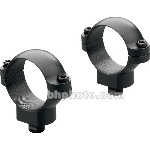 "Leupold QR Rings (1"", Steel, Low, Matte Black)"