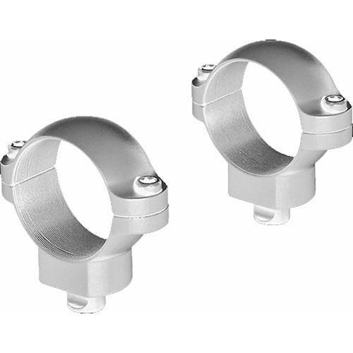 "Leupold QR Rings (High) for 1.0"" Riflescopes  (Silver)"