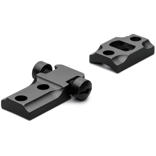 Leupold STD 700 RVF Two-Piece Mounting Base for Select Remington Rifles (Matte Black)