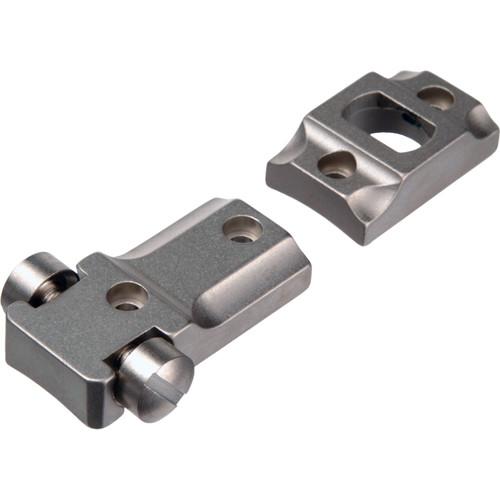 Leupold STD A-Bolt LR Two-Piece Mounting Base  (Silver)