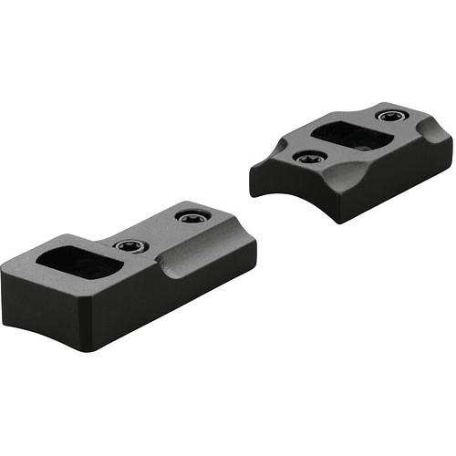 Leupold DD 700 Dual Dovetail Two-Piece Mounting Base for Select Remington Rifles (Gloss Black)