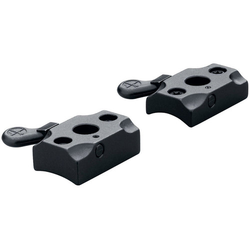 Leupold QR 70 Exp Quick Release Two-Piece Mounting Base (Gloss Black)