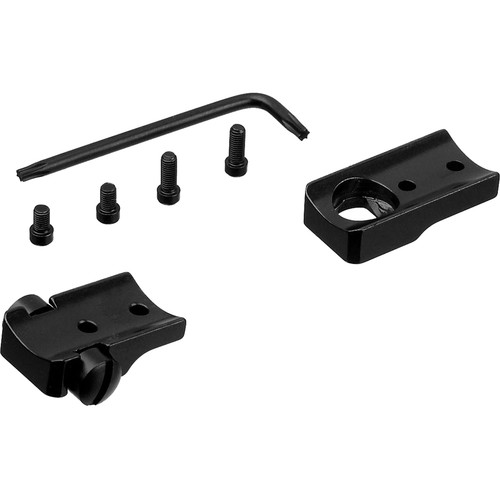 Leupold STD BLR Two-Piece Mounting Base for the Long & Short Action Browning BLR Lightning (Gloss Black)