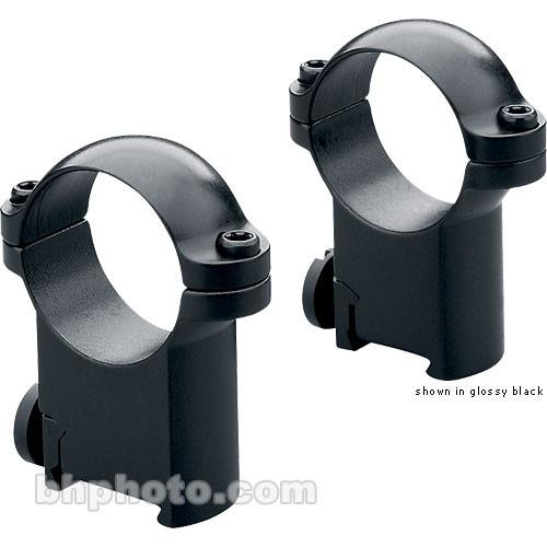 Leupold RM Sako Ringmounts (30mm, Steel, High, Matte Black)