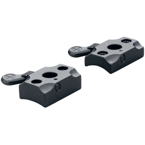 Leupold QR BAR Quick Release Two-Piece Mounting Base for Browning BAR Rifles (Matte Black)