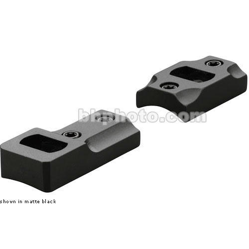 Leupold DD Mark V RVF Dual Dovetail Two-Piece Mounting Base (Matte Black)