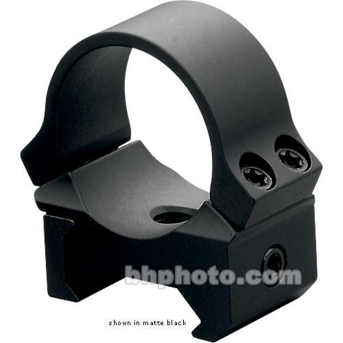 "Leupold PRW Mounting Rings (1.0"", Steel , Medium, Gloss Black)"