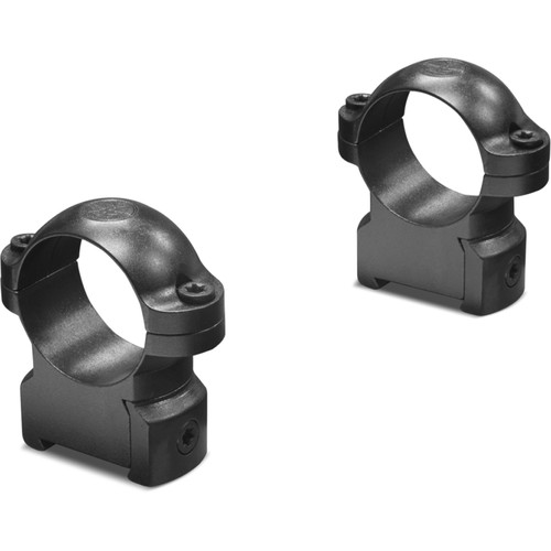 "Leupold RM CZ 550 Ringmounts (1"", Steel, Medium, Matte Black)"